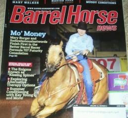 Barrel Horse News Cover