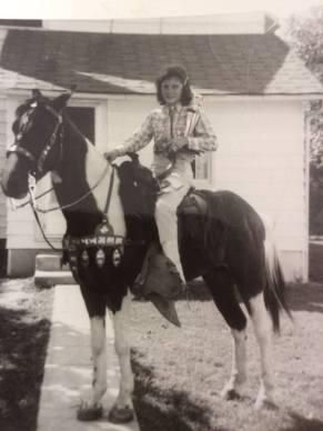 Rusty 4-H Horse